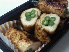 鶏ささみの野菜巻き