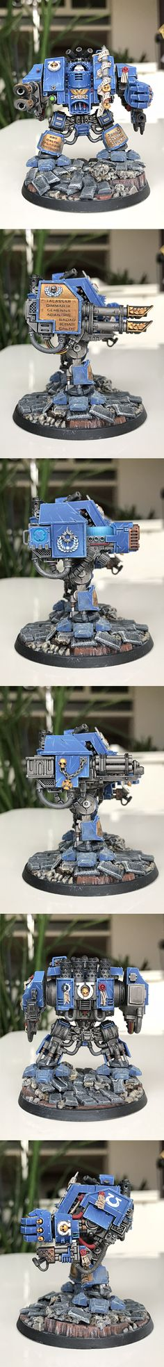 Venerable Dreadnought of the Ultramarines