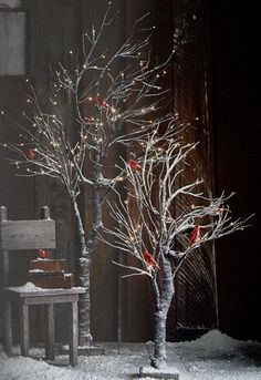 Roost Snowy Willow Trees - 2 Sizes - Sold out for the season at Roost