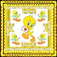 Winnie The Pooh Friends, Holiday Fun, Tweety, Bird, Frame, Cartoons, Home Decor, Cartoon, Free Coloring Pages