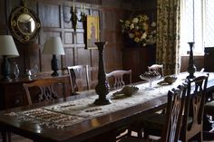 Cothay Manor Historic Homes, Cot, Bed And Breakfast, Interior Styling, Table Settings, British, English, House, Style