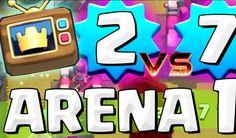 Nível 1 X Nível 7 na Arena 1 http://ift.tt/1STR6PC  Nível 1 X Nível 7 na Arena 1 http://ift.tt/1STR6PC Uma batalha bizarra que apareceu na TV Royale esses dias! Um jogador nível 2 enfrentou um jogador nível 7 na ARENA 1. Pior ainda o nlvl 7 só atacou usando feitiços na torre do rei veja no que deu isso:  Até a metade do vídeo pensei que o nível 7 estivesse na Arena 1 só pra zuar os jogadores iniciantes mas não ele que parece ser o noob da parada! euhaeaheuhae