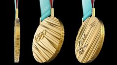 The bronze, silver and gold medals of next year's Winter Olympics in South Korea will feature diagonal ridges made from extrusions of the country's 600-year-old alphabet.