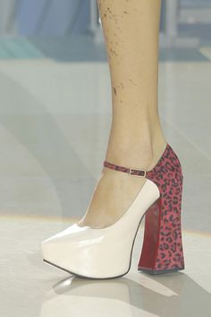 Look 036 shoes at Vivienne Westwood #SS14 Gold Label.