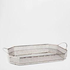 PLATEAU MIROIR VIEILLI - Plateaux - Table | Zara Home Canada