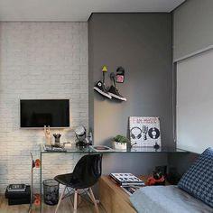 Como decorar e aproveitar cada cantinho de um quarto pequeno