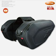 NEW SA-212 Motorcycle Saddle bag Saddlebags luggage Suitcase Around Motorcycle Rear Seat Bag Saddle Bag with Waterproof Cover