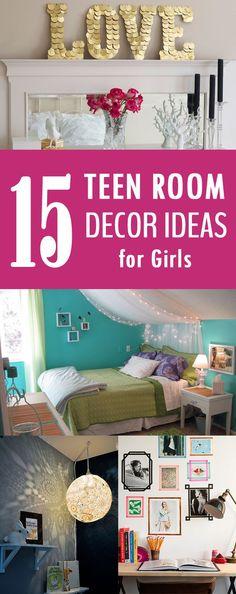 15 Easy DIY Teen Room Decor Ideas for Girls  https://www.djpeter.co.za