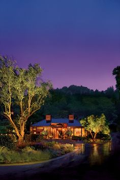 Calistoga Ranch, CA, USA. This resort is the perfect combination of rustic and elegant.
