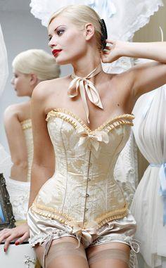 ivory grace corset