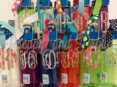 Lilly Pulitzer Inspired Camelbak Water Bottle With Monogram and Matching Ribbon by PreppyandProud on Etsy https://www.etsy.com/listing/210311512/lilly-pulitzer-inspired-camelbak-water