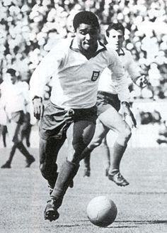 Eusébio - The best player of Portugal.