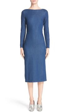 Rachel Comey Tenby Body-Con Denim Dress available at #Nordstrom
