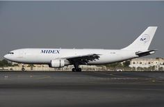 Midex, UAE, cargo airline, operated 2007 till 2015 - Airbus A300-200F freighter - via PJ de Jong