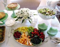 We get so many questions about parties, dinner menus, and cooking for a crowd on a budget, and we're always on the lookout for simple yet elegant ideas for a company meal. So take a look at this country brunch over at Eddie Ross's blog — it's a great example of how to host a meal in an elegant but inexpensive way!