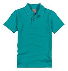 Camisa Polo Infantil Manga Curta