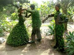Topiary Gardens | Topiary garden, Quail Botanical Gardens, San Diego, California
