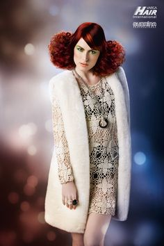 """MIRACLE POWER Cut: Darja Lesjak for Varga Hair Internationals - Color System """"Subrina Professional"""" Avant Garde Hair, Cut And Color, Hair Trends, Hair Beauty, Hairstyle, Collection, Hair Job, Hair Style, In Style Hair"""