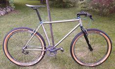 """Hallihallo,hier biete ich ein extrem seltenes LOGIC PRO WCS Mountainbike mit vernickeltem...,RITCHEY LOGIC PRO WCS MTB 26"""" STAHL CROMO SINGLE SPEED 48CM in Dresden - Klotzsche"""
