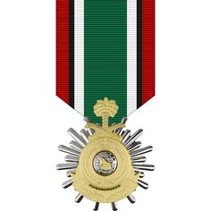 Saudi Arabian Medal for the Liberation of Kuwait Sticker by USAMM Military Medals And Ribbons, Us Military Medals, Army Medals, Military Orders, Military Veterans, Military Decorations, Military Insignia, Stickers, Saudi Arabia