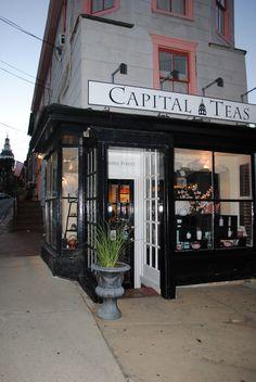 Tea shop in Baltimore. Love it.