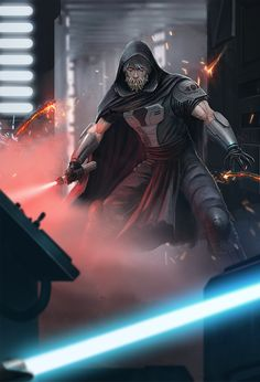 Jawbone Sith Lord by ApneicMonkey on DeviantArt Star Wars Sith, Rpg Star Wars, Star Wars Droids, Star Wars Fan Art, Star Wars Concept Art, Sith Lord, Jedi Sith, Sith Armor, Images Star Wars