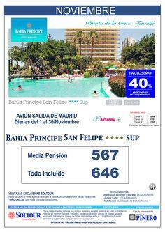 Tenerife - 40% Dto.Acompañante - Bahía Príncipe San Felipe, salidas diarias del 1 al 30 Noviembre desde Madrid ultimo minuto - http://zocotours.com/tenerife-40-dto-acompanante-bahia-principe-san-felipe-salidas-diarias-del-1-al-30-noviembre-desde-madrid-ultimo-minuto/