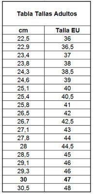 EL ATELIER DEL TEJIDO: Tabla de medidas - largo de pie de bebes, niños y adultos