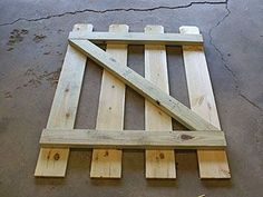 Building A Small Gate For A Backyard Fence