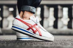 "Onitsuka Tiger Corsair ""White/True Red"" - EU Kicks Sneaker Magazine"
