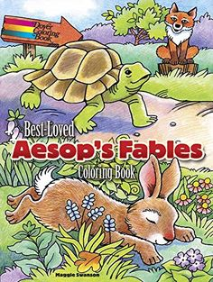 Best-Loved Aesop's Fables Coloring Book by Maggie Swanson http://www.amazon.com/dp/0486797473/ref=cm_sw_r_pi_dp_U6gCvb1S6WXCY