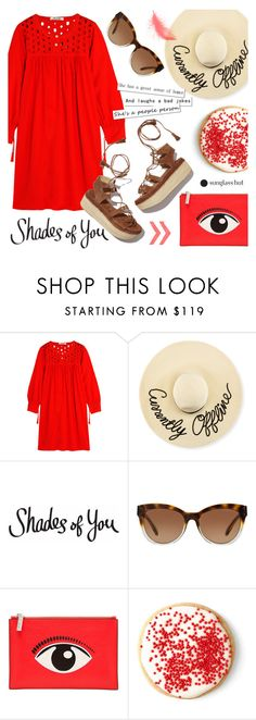 """Shades of You: Sunglass Hut Contest Entry"" by alexandrazeres on Polyvore featuring Madewell, Eugenia Kim, Michael Kors, Kenzo, Stuart Weitzman, RedOutfit, shadesofyou and currentlyoffline"