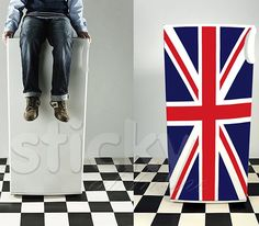 Fridgy Sticker UNION FLAG by Sticky!!!
