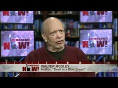 Walter talks about mysteries and politics (via Democracy Now)