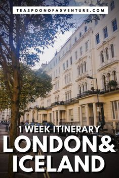 ONE WEEK IN LONDON AND ICELAND! The perfect itinerary for a trip to both London and Iceland - from the Tower of London to waterfalls and glaciers! #london #iceland #travel #traveltips #uk #itinerary #europe