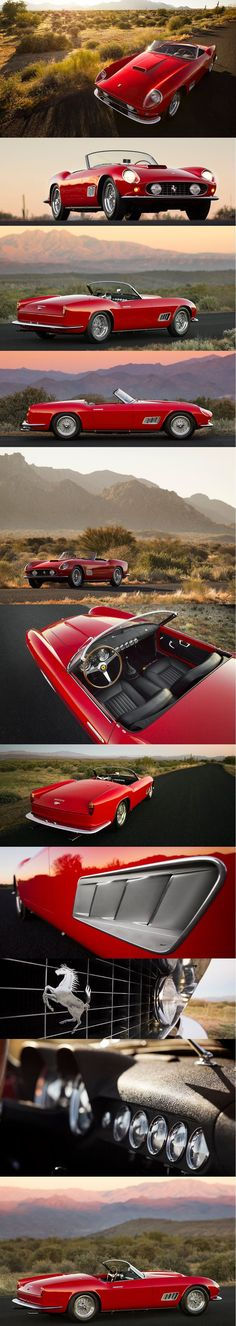 1958 Ferrari 250 GT California Spider - https://www.luxury.guugles.com/1958-ferrari-250-gt-california-spider/