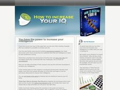 Think Fast: How To Increase Your Iq