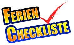 Checkliste vor dem Urlaub mit der Familie
