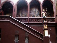 Basel's Town Hall, #Switzerland #townhall #beautifulplaces