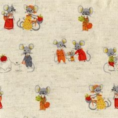 country mice fabric