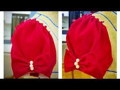 MiMi style : Cách cắt tay áo vai bồng xếp ly đẹp - YouTube Back Neck Designs, Dress Neck Designs, Sleeve Designs, Saree Tassels Designs, Fancy Blouse Designs, Kurti Sleeves Design, Sleeves Designs For Dresses, Frock Patterns, Designer Blouse Patterns