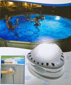 INTEX Pool LED Poolbeleuchtung Above Ground Pool, In Ground Pools, Pool Storage, Intex Pool, My Pool, Pool Ideas, Yard Ideas, Landscape Design, Swimming Pools