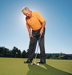 Golf Swing Drills 4 Putting Tips To Hole It - Golf Digest - The key points of a no-nonsense philosophy that has made Dave Stockton, the guy who tells Phil Mickelson what to do, the hottest putting teacher in the game today. Golf Tips Driving, Golf Training Aids, Golf Putting Tips, Golf Videos, Golf Instruction, Golf Tips For Beginners, Golf Quotes, Golf Lessons, Golf Humor