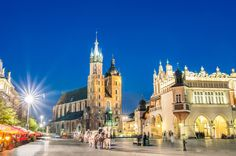From (with Tour Center) for a Krakow break inc. flights and Auschwitz tour, from for - fly from Stansted or Manchester and save up to Saint Sylvestre, European City Breaks, Cultural Capital, Best Shopping Sites, Voyage Europe, Excursion, Classic Architecture, Places In Europe, Hotel Stay