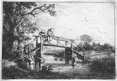 Adriaen Van Ostade (Dutch, 1610-1685) - Le Pecheur a la Ligne(The Anglers), 1653