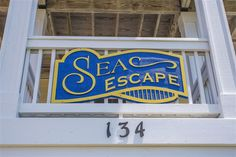 Extraordinary photo - pay a visit to our site for way more creative concepts! Beach House Names, Beach House Signs, Beach Signs, Home Signs, Cottage Names, Cottage Signs, Beach Cottage Decor, Cottage Chic, Outer Banks Vacation Rentals