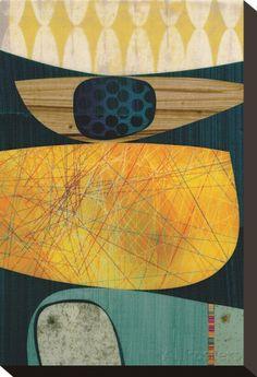 Bolero Reproduction transférée sur toile par Rex Ray sur AllPosters.fr