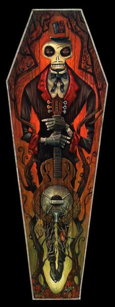Rockabilly art by Tim Lee.