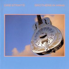 Dire Straits - Brothers In Arms- 2 LP-Sealed-New Record on Vinyl Track Listing - So Far Away - Money For Nothing - Walk Of Life - Your Latest Trick - Why Worry - Ride Across The River - The Man's Too Strong - One World - Brothers In Arms Iconic Album Covers, Rock Album Covers, Classic Album Covers, Music Album Covers, Pop Rock, Rock And Roll, Dire Straits, Mark Knopfler, Bruce Springsteen