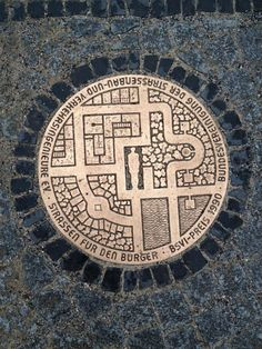 European manhole covers - abstract graphics in the ground #industrial #design    via @DaveThornhill27